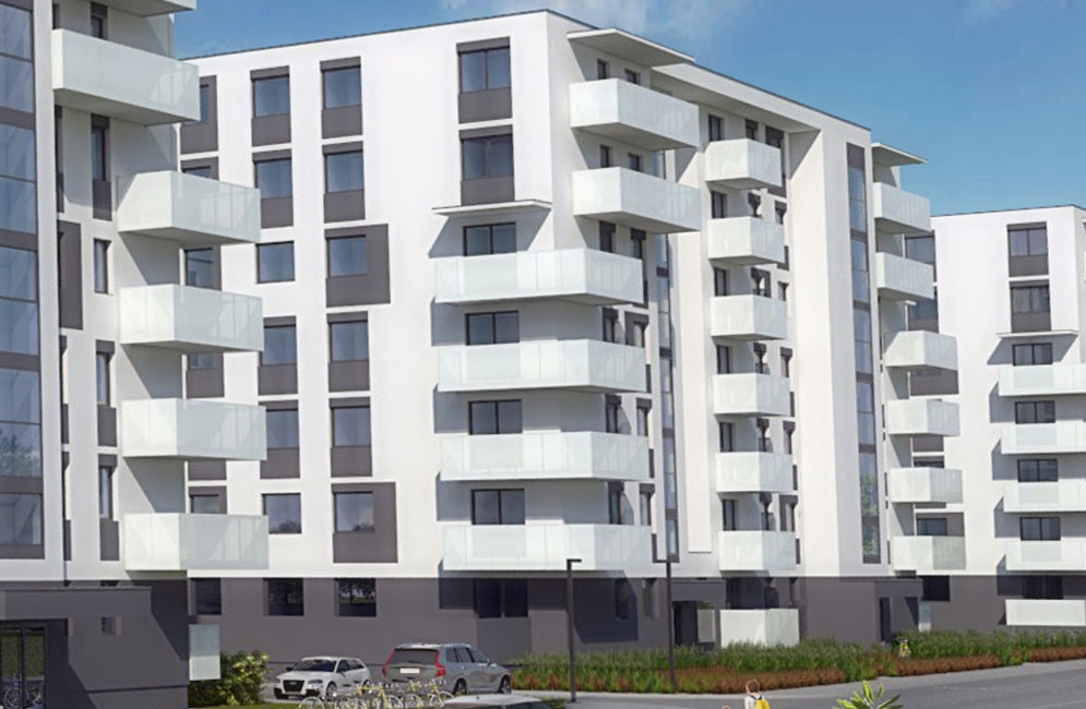 OSIEDLE CZARTORYSKIEGO - Budynek B3 - ZAKOŃCZENIE BUDOWY: WRZESIEŃ 2021 R.