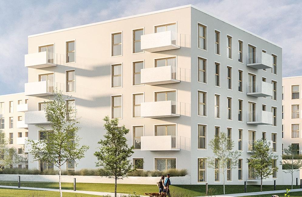NOWA ZATORSKA - Budynek C- Zakończenie budowy 30.09.2021r.