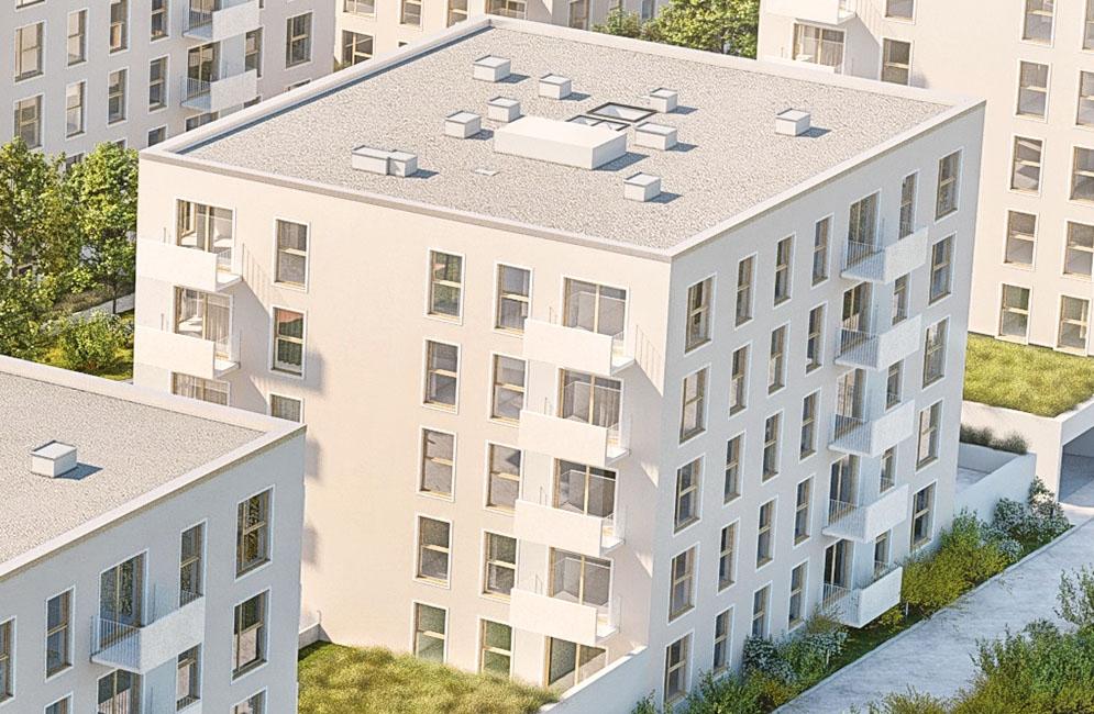 NOWA ZATORSKA - Budynek G -Budowa zakończona 30.12.2020 r. pozwolenie na użytkowanie