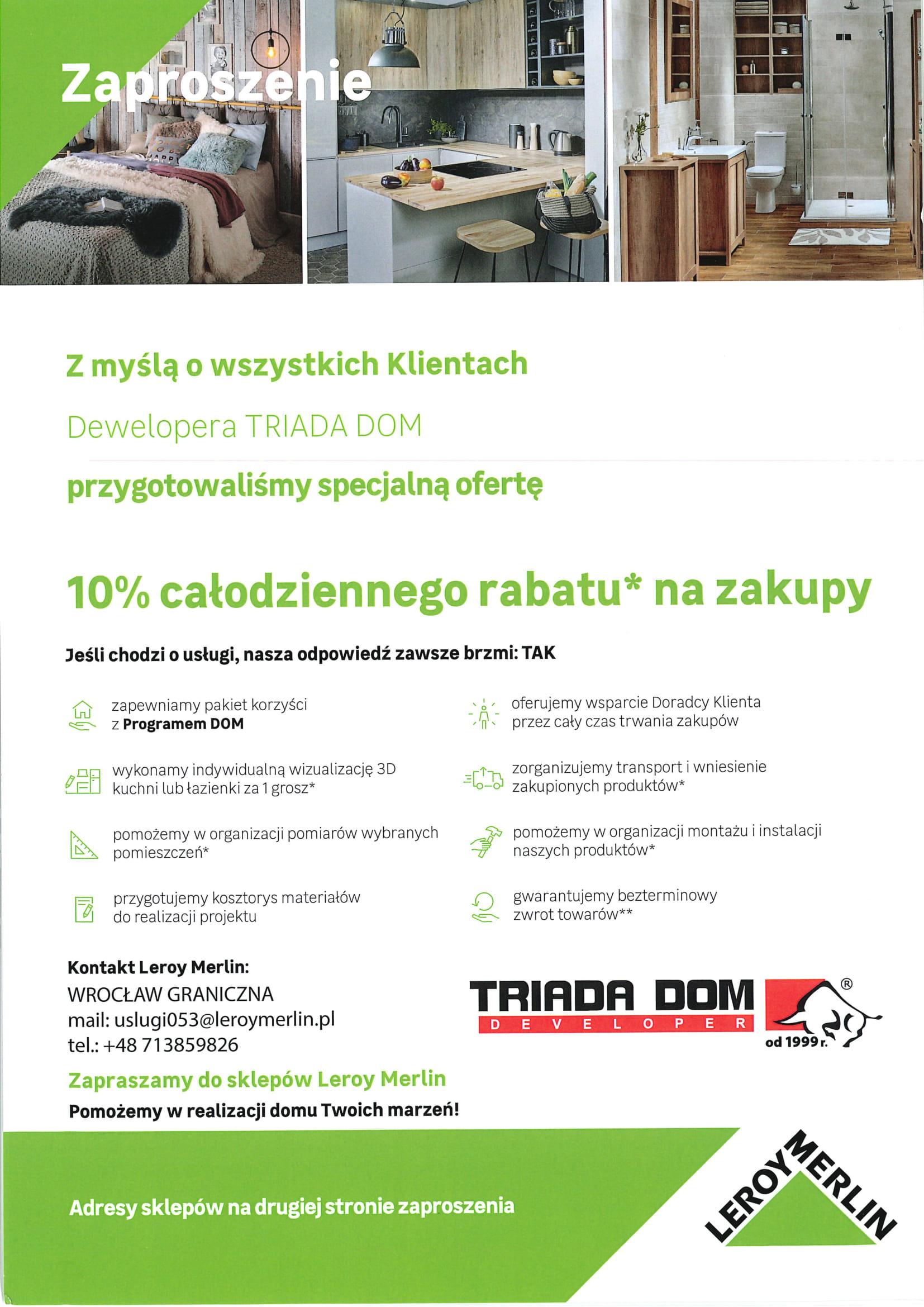 Nowe Mieszkania Na Sprzedaz Wroclaw Deweloper Triada Dom Rabaty
